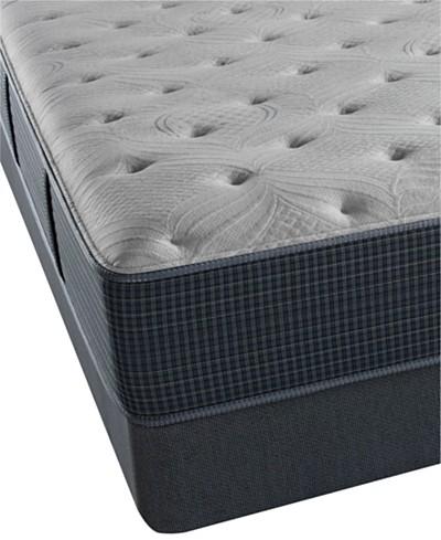 Beautyrest Silver Seaport Mist 13.75 Luxury Firm Mattress Set- King