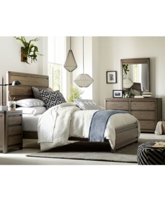 ... Atmosphere In Your Childu0027s Bedroom With The Weathered Oak Plank  Appearance Of The Handsome Big Sky Wendy Bellissimo Kids Bedroom Furniture  Collection.