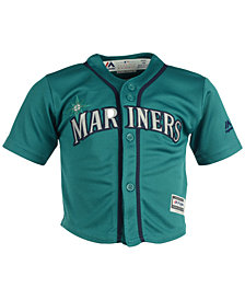 Majestic Seattle Mariners Blank Replica CB Jersey, Baby Boy (12-24 months)