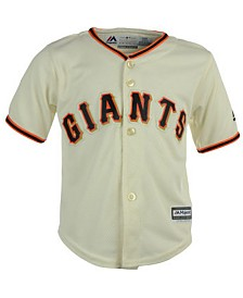 Majestic San Francisco Giants Blank Replica CB Jersey, Baby Boy (12-24 months)