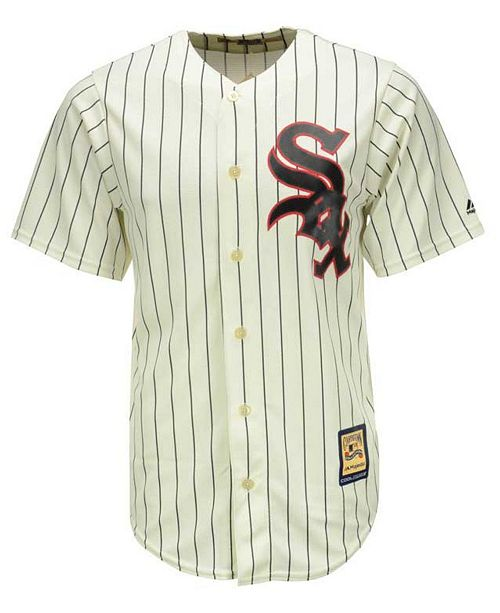 hot sales 8e6b9 0edba Men's Chicago White Sox Cooperstown Blank Replica CB Jersey