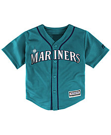 Majestic MLB Seattle Mariner Replica Cool Base Jersey.Little Boys (4-7)
