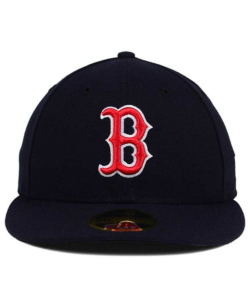 ... New Era Boston Red Sox Low Profile AC Performance 59FIFTY Fitted Cap ... 30a659e3621