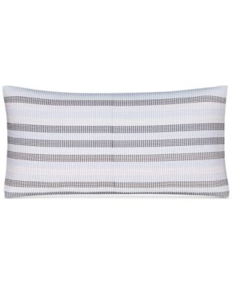 """CLOSEOUT!  Engineered Dots 10"""" x 20"""" Decorative Pillow, Created for Macy's"""