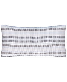 "CLOSEOUT! Hotel Collection  Engineered Dots 10"" x 20"" Decorative Pillow, Created for Macy's"