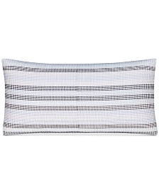 """CLOSEOUT! Hotel Collection  Engineered Dots 10"""" x 20"""" Decorative Pillow, Created for Macy's"""