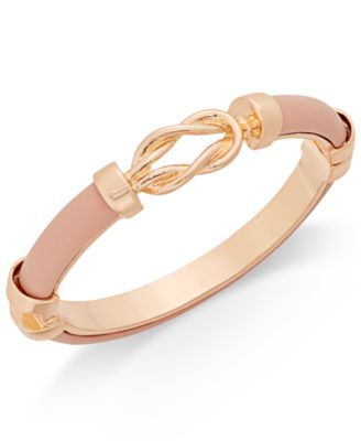 Image of Charter Club Faux Leather Bangle Bracelet, Only at Macy's