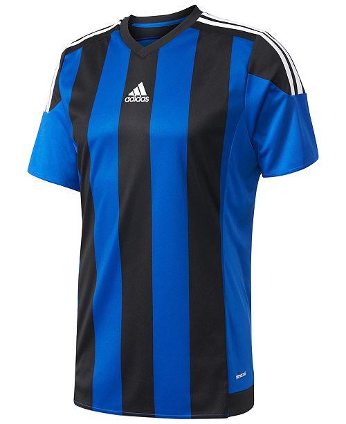 Macys Outlet Nj: Adidas Men's ClimaCool® Striped Soccer Jersey