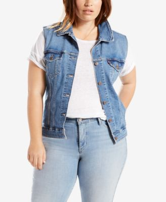 Plus Size Levis Jeans & Clothing - Macy's