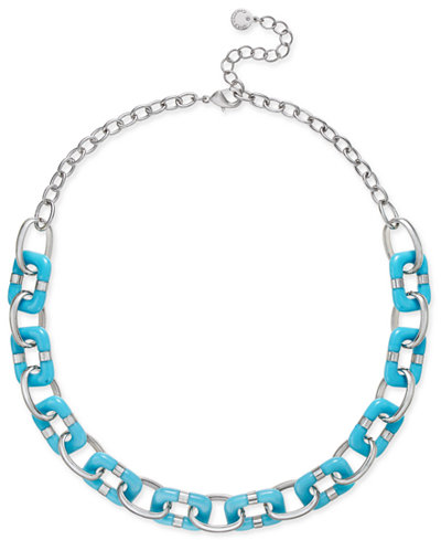 Charter Club Resin Link Statement Necklace, Created for Macy's