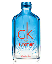 Calvin Klein CK One Summer Eau de Toilette Spray, 3.4 oz