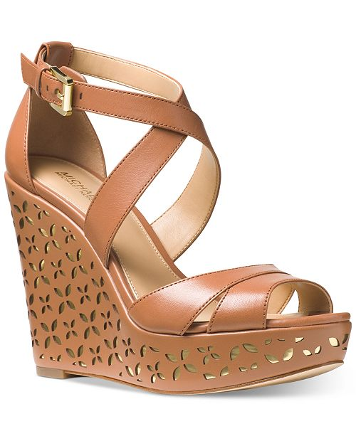 bf3171a026d Michael Kors Sienna Espadrille Wedge Sandals   Reviews - Sandals ...
