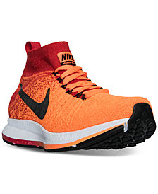 Nike Big Boys'   Zoom Pegasus All Out Flyknit Running Sneakers from Finish Line