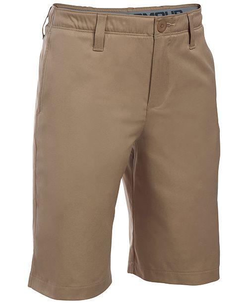 0c4e83c9c Under Armour Big Boys Match Play Golf Shorts & Reviews - Shorts ...