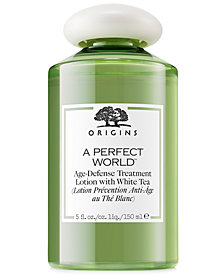 Origins A Perfect World Age-Defense Treatment Lotion With White Tea, 5 oz