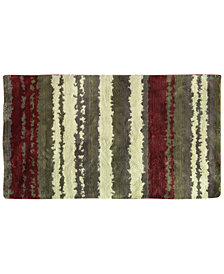 "Bacova Cashlon Strata Red 27"" x 45"" Accent Rug"