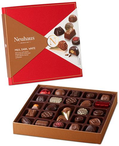 Neuhaus 25-Piece Belgian Assorted Chocolate Gift Box