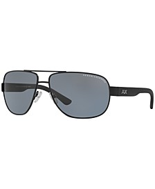 Armani Exchange Polarized Sunglasses , AX2012S