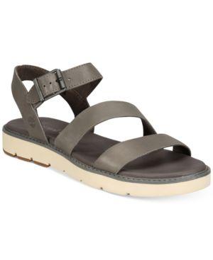 Timberland Women's Bailey Park Flat Sandals Women's Shoes 4468552
