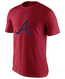 Men's Atlanta Braves BP Logo Legend T-Shirt