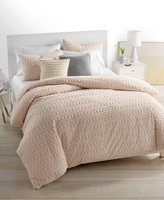 CLOSEOUT! Whim by Martha Stewart Collection On the Dot Blush Bedding Collection, Only at Macy's