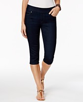 4e26b7cdc7 Style & Co Petite Avery Pull-On Skimmer Jeans, Created for Macy's