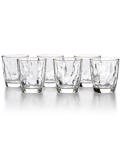 Bormioli Rocco Diamond 6-Pc. Double Old Fashioned Glass Set