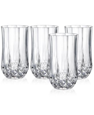Cristal D'Arques Set of 4 Highball Glasses