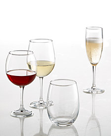 Martha Stewart Essentials Glassware Collection, Created for Macy's