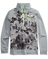 The North Face Quarter-Length Zip Pullover, Big Boys (8-20)