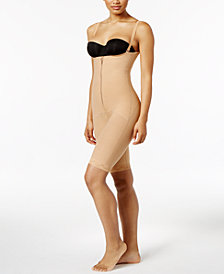 Leonisa Women's  Firm Tummy-Control Lace-Trim WYOB Bodyshaper 018674N