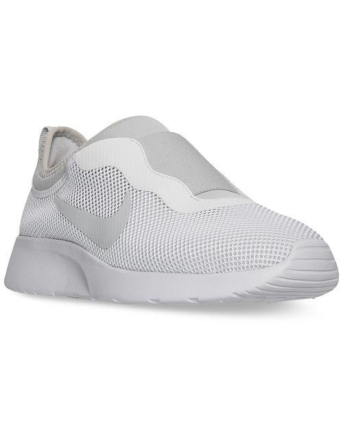 Nike Women s Tanjun Slip Casual Sneakers from Finish Line - Finish ... 1d4463e8ab