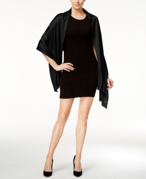 Image of Calvin Klein Basic Soft Wrap & Scarf in One