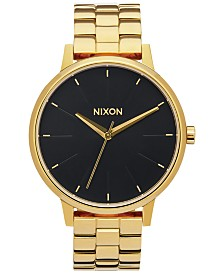 Nixon Women's Kensington Stainless Steel Bracelet Watch 37mm