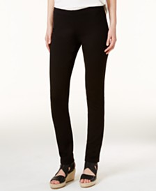 Eileen Fisher SYSTEM Ponte Pull-On Skinny Pants, Regular & Petite