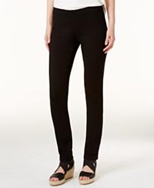 Eileen Fisher SYSTEM Ponte Pull-On Skinny Pants, Regular & Petite