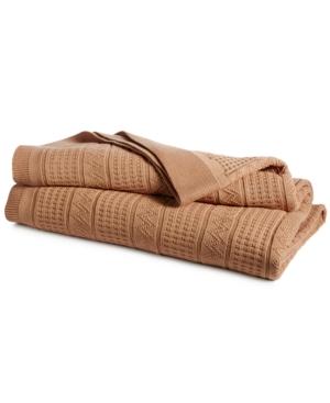 Lauren Ralph Lauren Ultra Soft 100 Cotton Zig Zag FullQueen Blanket Bedding