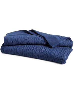 Lauren Ralph Lauren Ultra Soft 100 Cotton Zig Zag Twin Blanket Bedding