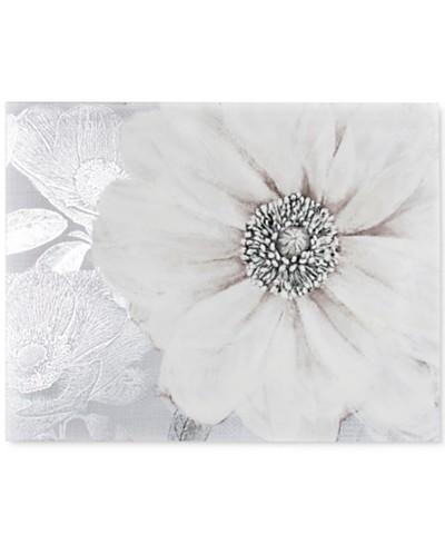 Graham & Brown Grey Bloom Canvas Print