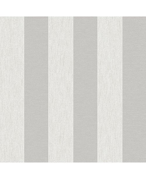 Graham & Brown Ariadne White and Silver Wallpaper