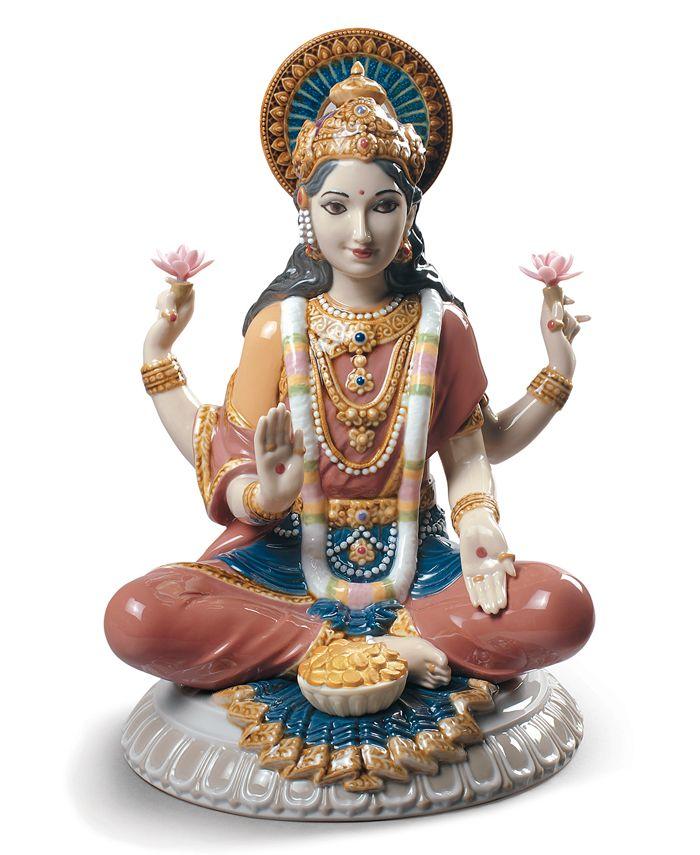 Lladró - Goddess Sri Lakshmi Figurine