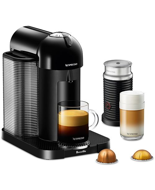 Nespresso By Breville Vertuoline Coffee Espresso Machine With Aeroccino