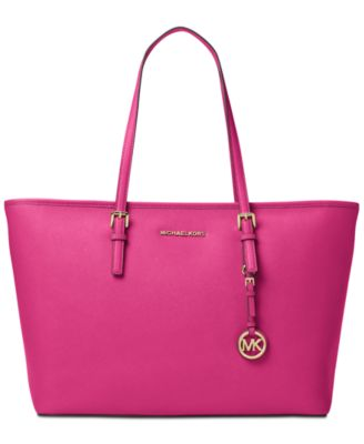 Image of MICHAEL Michael Kors Jet Set Travel Medium Top Zip Multifunction Tote