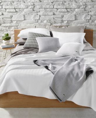 CLOSEOUT! Cotton Chevron Quilted Twin Coverlet