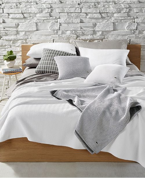 Lacoste Home Lacoste Chevron Coverlet Collection Reviews Bedding