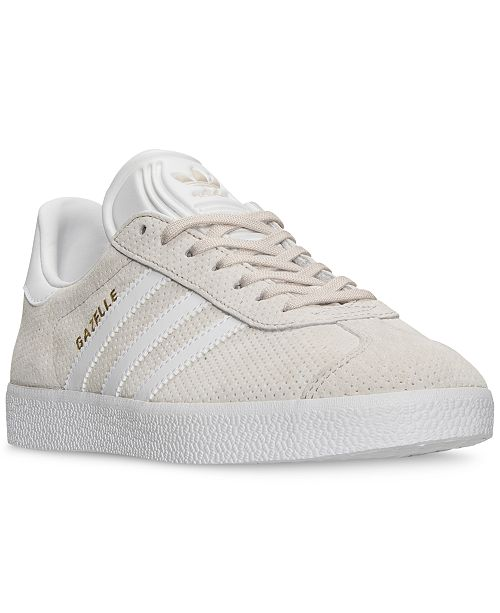 new concept e8461 ab33c ... adidas Womens Gazelle Casual Sneakers from Finish ...