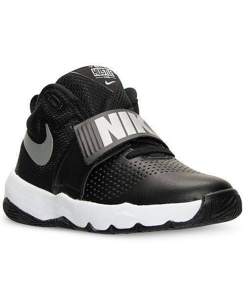 quality design ace06 0942f ... Nike Big Boys  Team Hustle D8 Basketball Sneakers from Finish ...