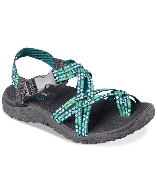 7dcc301c5a41 ... Skechers Women s Reggae Loopy Sport Sandals from Finish Line ...