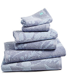 bluebellgray Fleur Cotton Bath Towel Set