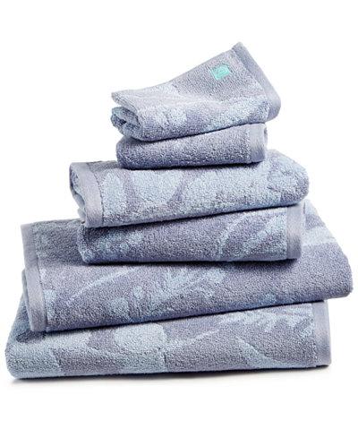 bluebellgray Fleur Cotton Bath Towel Set